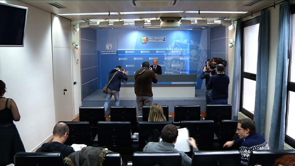Eusko Jaurlaritzak errekurtsoa aurkeztuko du EAEANak 35 orduko jardunaldiaren inguruko epaiaren aurka