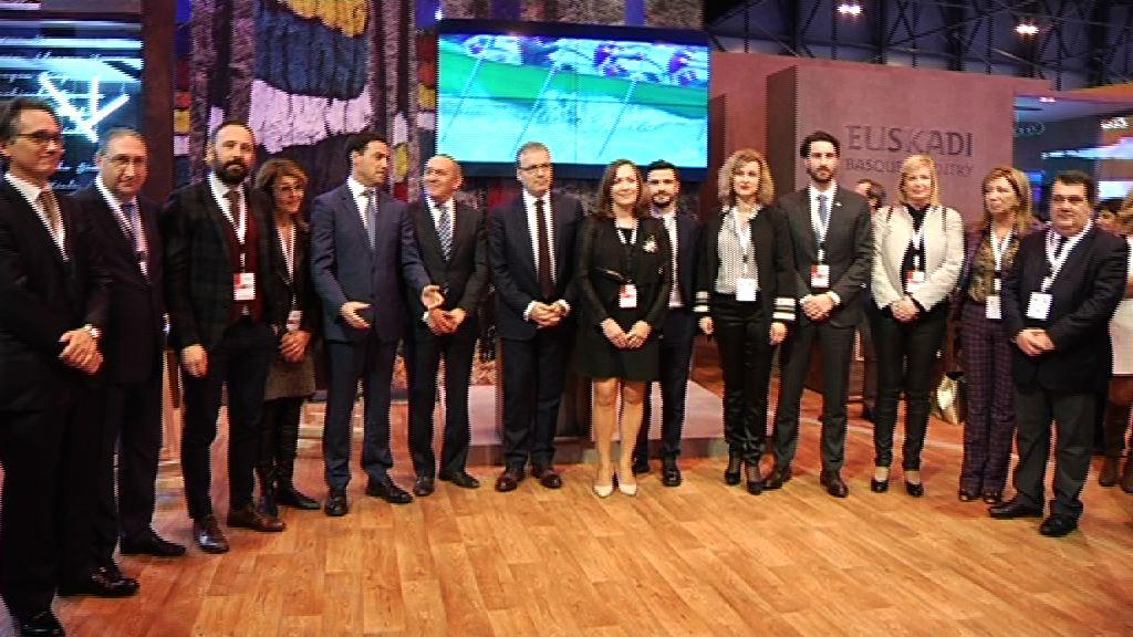 """""""Euskadi tiene todos los recursos para destacarse"""" afirma el consejero Retortillo en la inauguración del stand de Euskadi en FITUR 2017"""