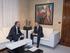 El Lehendakari ha recibido al nuevo delegado del Gobierno español, Javier de Andrés