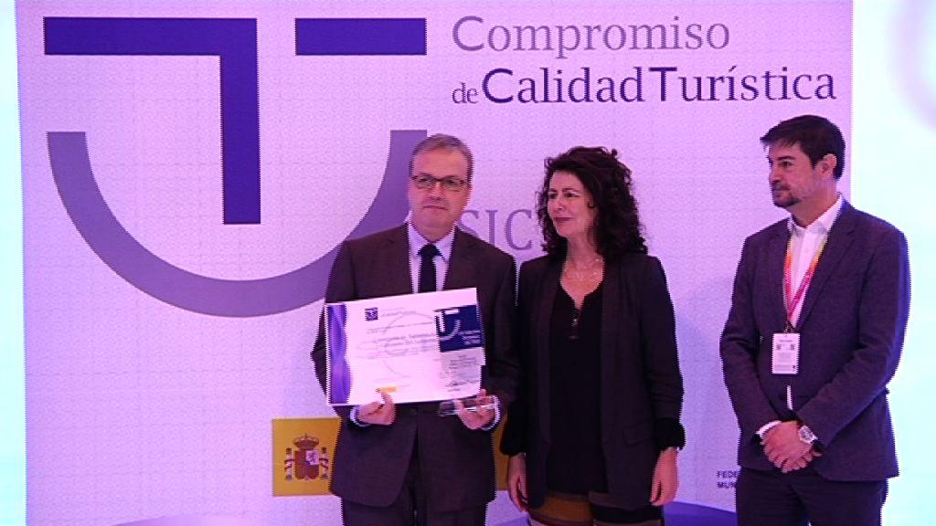 El consejero recoge el premio SICTED a la mejor administración pública