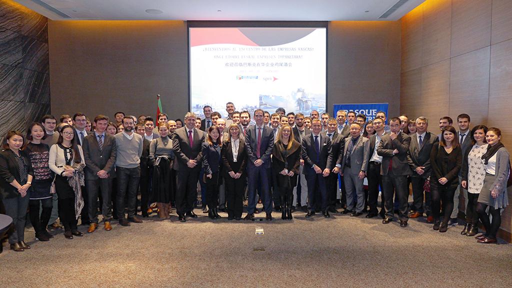 Las empresas vascas se consolidan como una de las referencias de la economía europea en China