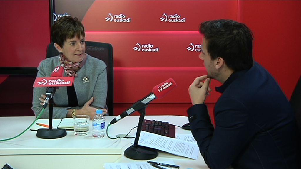 Tapia destaca que el apoyo del Gobierno Vasco ha permitido mantener la actividad de más de 300 empresas en los últimos cuatro años