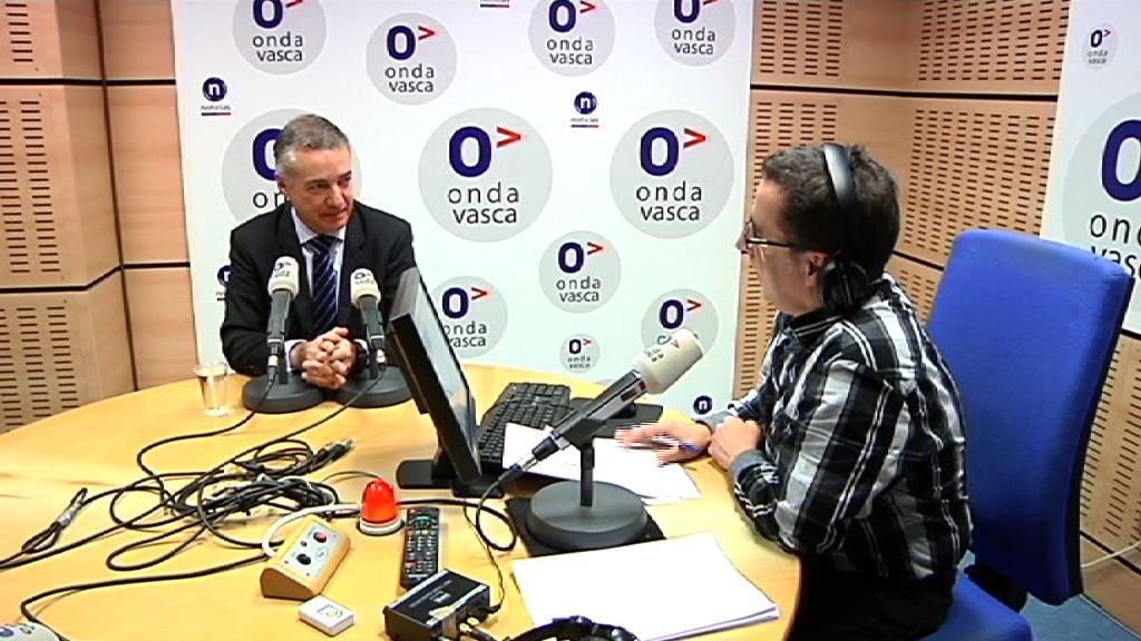 """Lehendakari: """"Confío en que la ponencia sirva para alcanzar un acuerdo desde el diálogo y sentar las bases de una convivencia"""""""