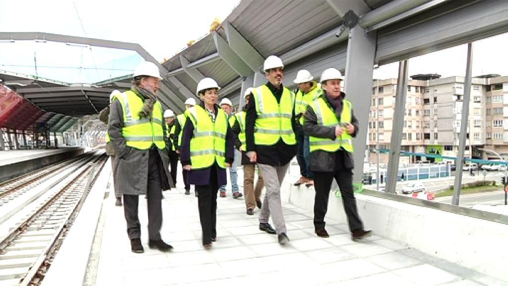 La nueva estación de Loiola entrará en servicio el próximo 5 de marzo