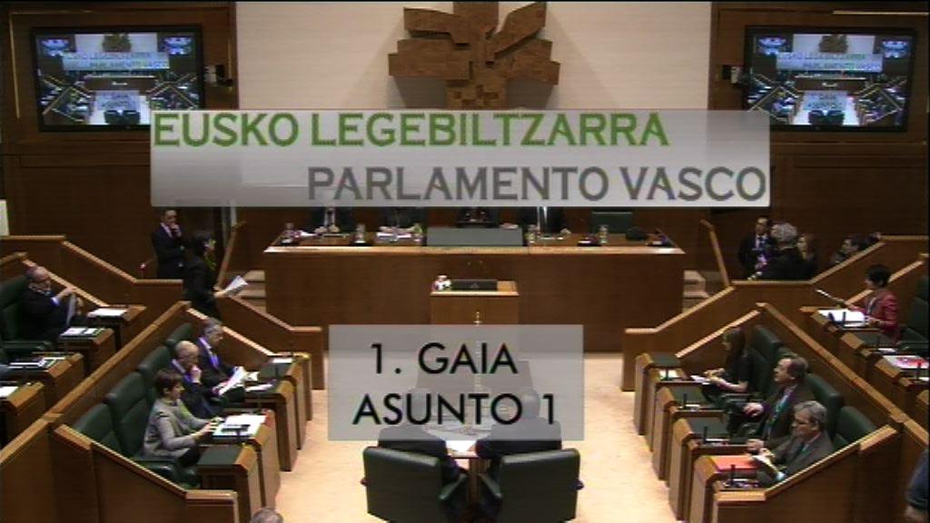 Pregunta formulada por D.ª Miren Josune Gorospe Elezkano, parlamentaria del grupo Nacionalistas Vascos, al Lehendakari, relativa a las prioridades presupuestarias.