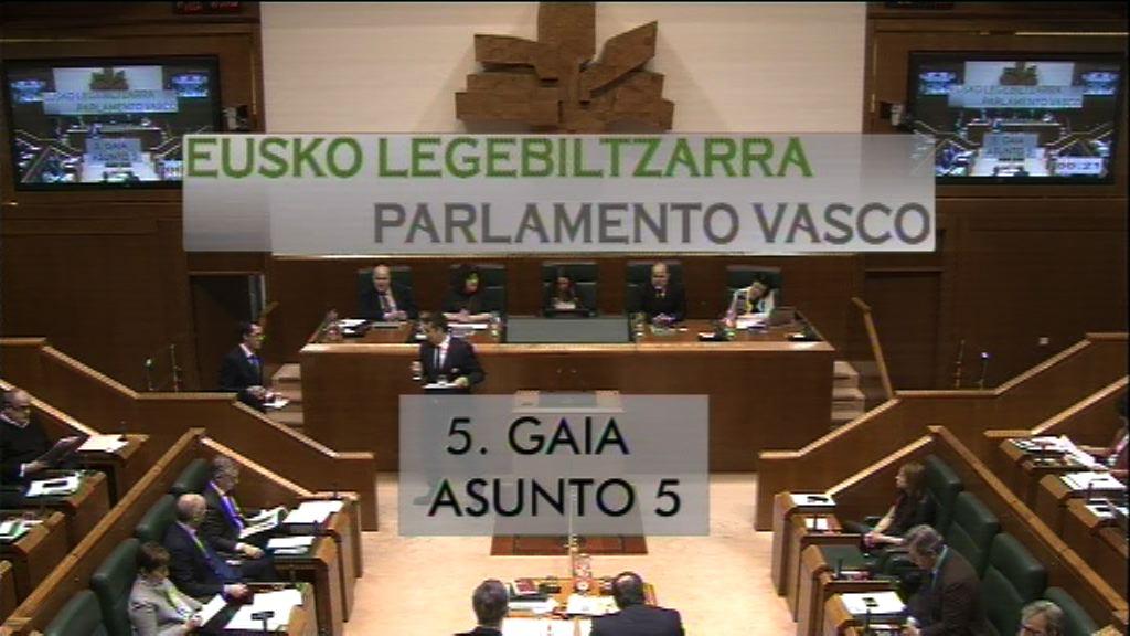 Pregunta formulada por D. Alfonso Alonso Aranegui, parlamentario del grupo Popular Vasco, al Lehendakari, sobre la dejación de responsabilidades institucionales del lehendakari con su inasistencia a la conferencia de presidentes autonómicos.