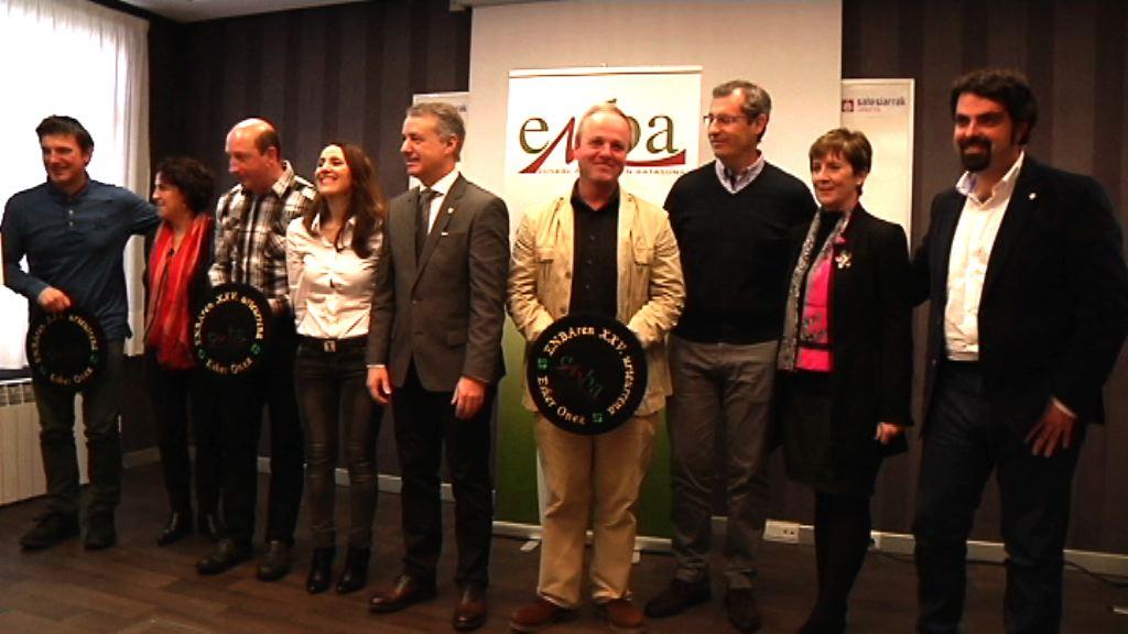 El Lehendakari ha clausurado la asamblea de la organización agraria ENBA en su 25 aniversario