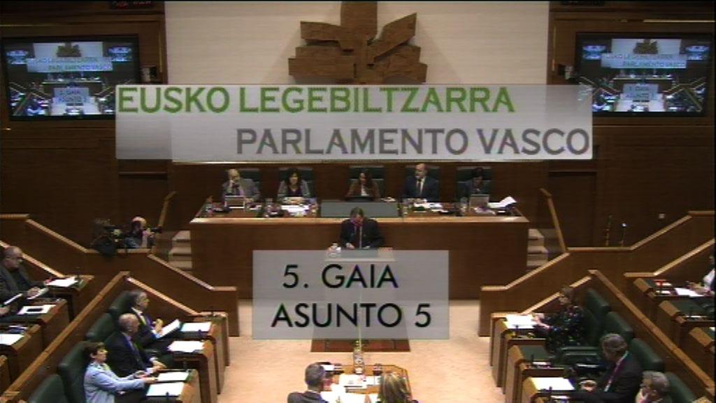 Pregunta formulada por Alfonso Alonso, grupo Popular vasco, al lehendakari, en relación con el proyecto de ley por la que se aprueban los presupuestos generales de la Comunidad de Euskadi para el año 2017