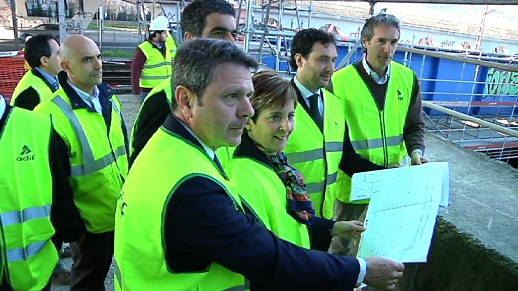 Trenbide sare konbentzionalaren egokitze lanek aurreratu egingo dute Euskadiren eta Europaren arteko konexioa