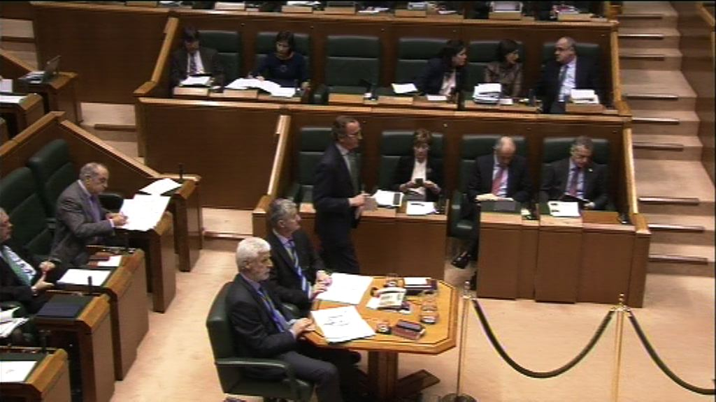 Pregunta formulada por D. Alfonso Alonso Aranegui, parlamentario del grupo Popular Vasco, al lehendakari, sobre calendario legislativo para la presente legislatura.