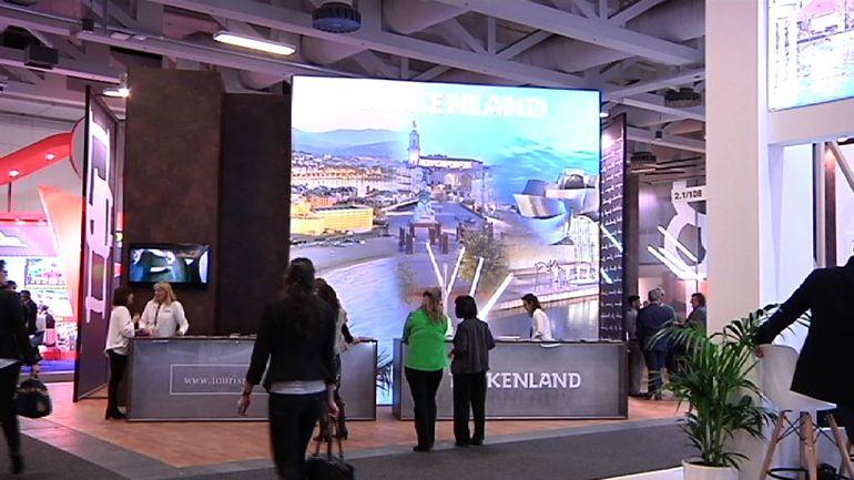"""""""Hay que optimizar los recursos gracias a la cooperación y el apoyo de los agentes turísticos"""" explica Harkaitz Millán en la Feria ITB"""