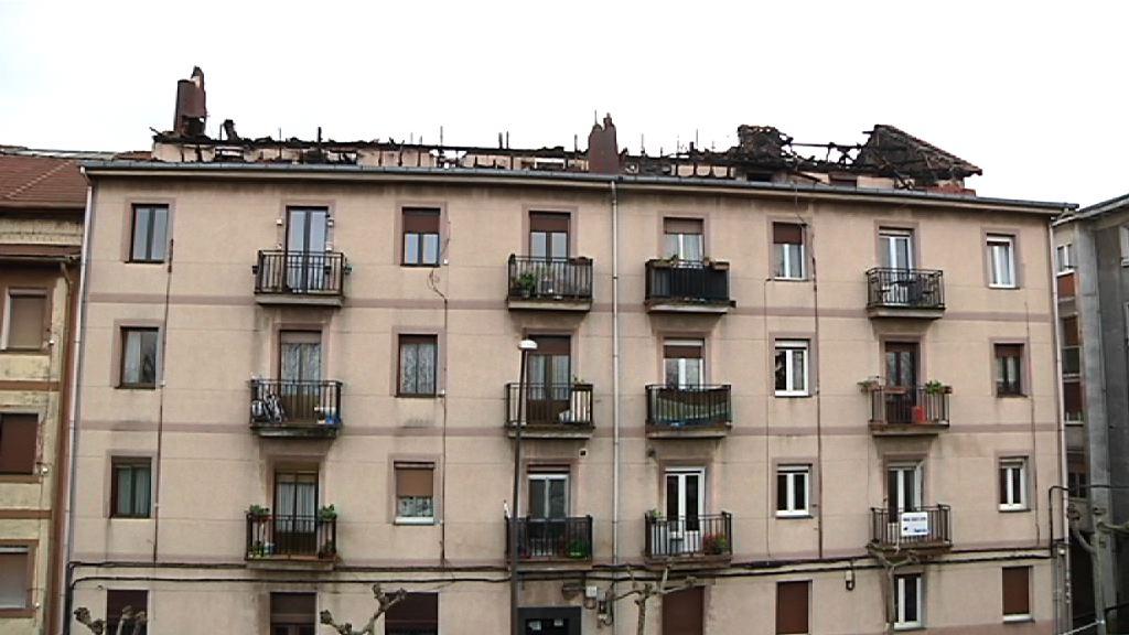 El Ejecutivo vasco ofrece su apoyo para realojar a las familias afectadas en el incendio de Sestao