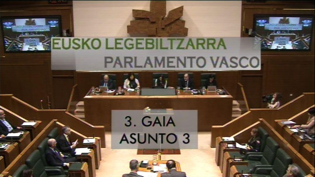 Pregunta formulada por D.ª Tinixara Guanche Suárez, parlamentaria del grupo Elkarrekin Podemos, al lehendakari, relativa a la desvinculación de la RGI del SMI por parte del Gobierno Vasco.