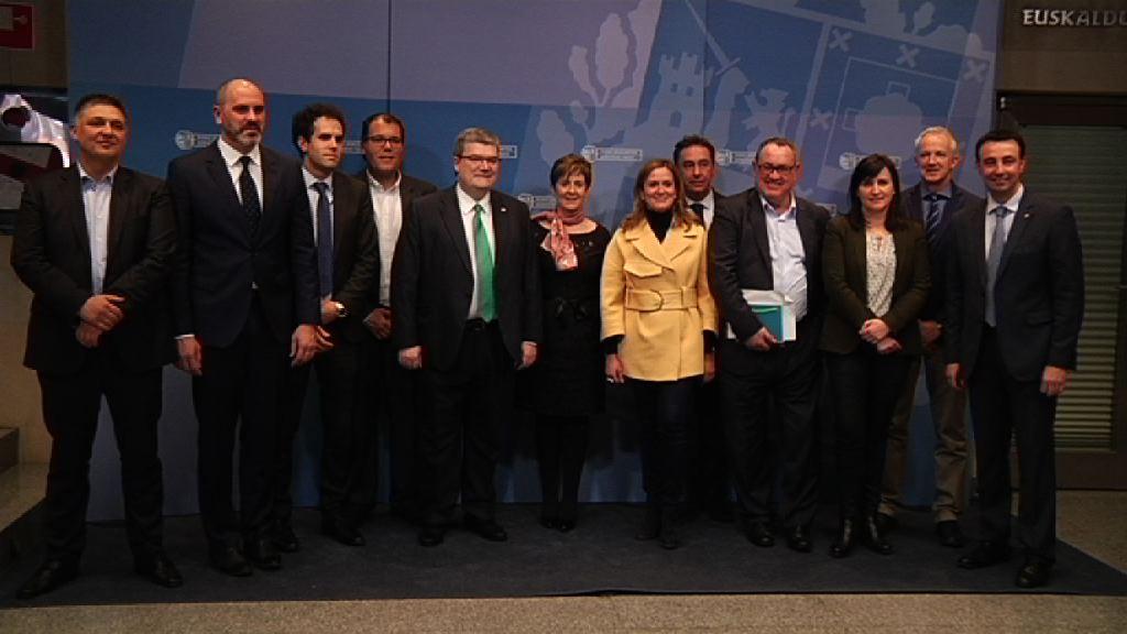 Las instituciones vascas se comprometen a trabajar de forma coordinada y con total rigor para la futura Variante Sur Ferroviaria
