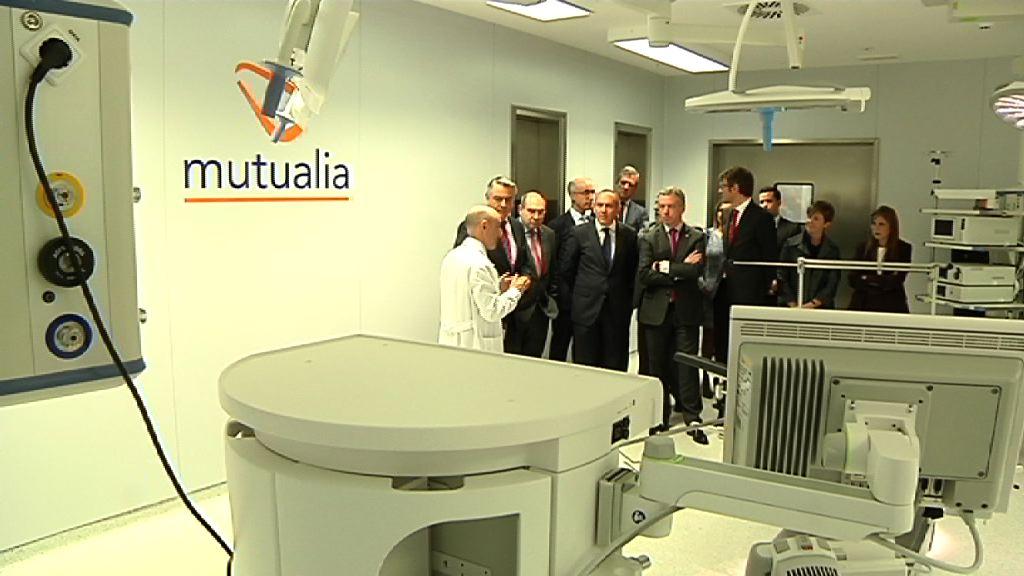 El Lehendakari ha acudido a la inauguración de la nueva sede de Mutualia en Vitoria-Gasteiz