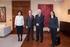 El Lehendakari recibe al presidente de la Red Española para el Desarrollo Sostenible Miguel Ángel Moratinos