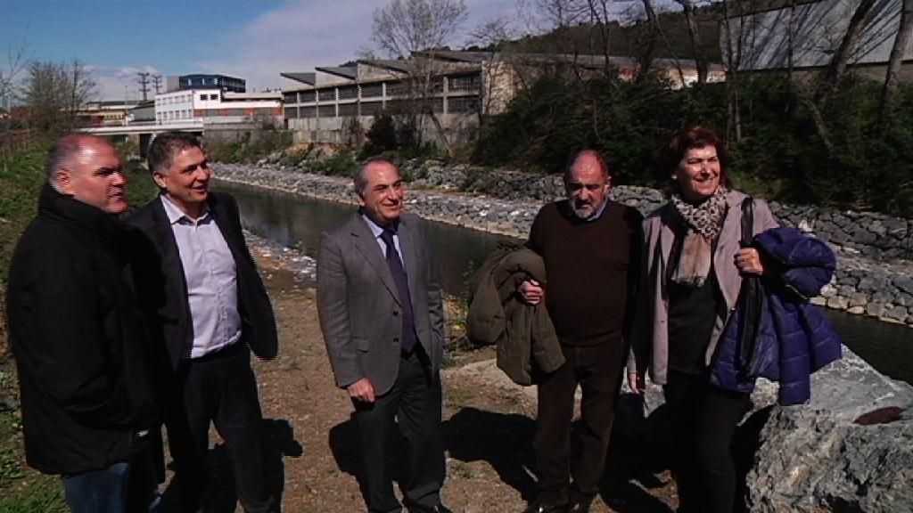 """Iñaki Arriola: """"Las obras de la II fase del plan anti-inundaciones del Ibaizabal aumentan la seguridad de la población y las empresas de Basauri y Galdakao"""""""