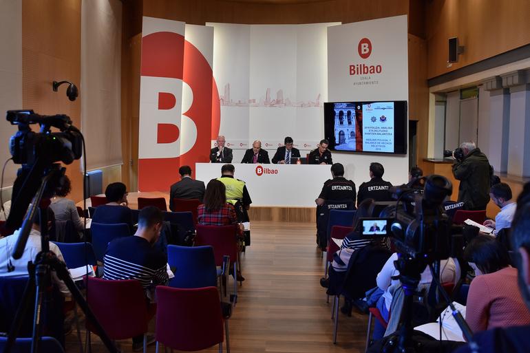 Bilbao sigue consolidándose como una de las ciudades más seguras
