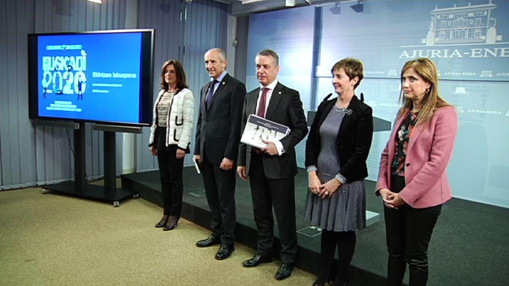 El Gobierno Vasco aprueba el Programa Marco por el Empleo y la Reactivación Económica 2017-2020
