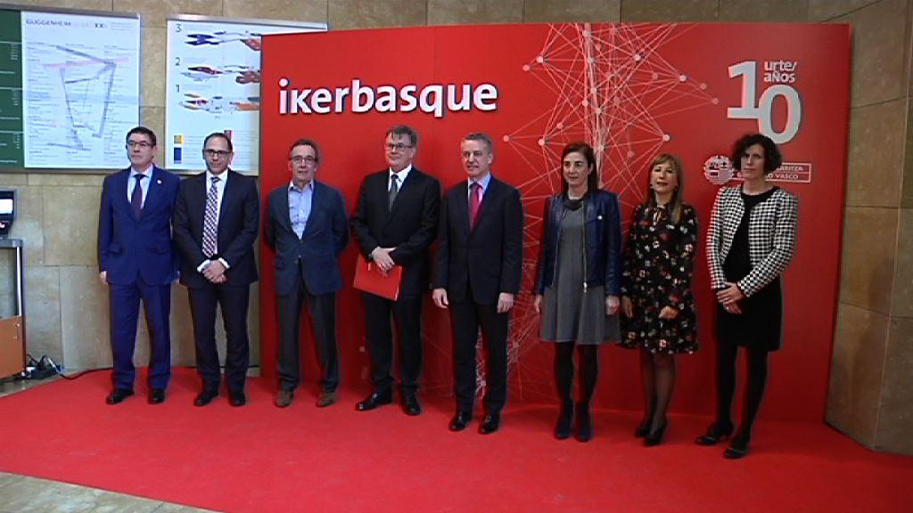 El Lehendakari ha asistido al décimo aniversario de Ikerbasque