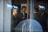 Reunión de Iñigo Urkullu, Uxue Barkos y Jean René Etchegaray con la Comisión Internacional de Verificación