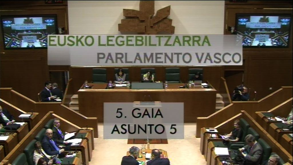 Pregunta formulada por D. Alfonso Alonso Aranegui, parlamentario del grupo Popular Vasco, al lehendakari, sobre la reforma de la RGI
