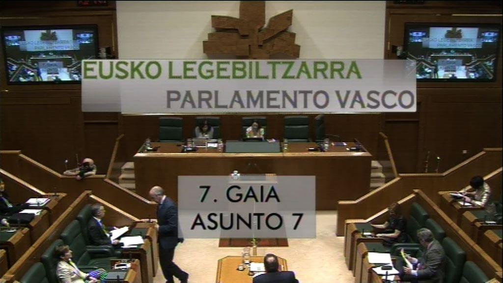 Pregunta formulada por D.ª Leire Pinedo Bustamante, parlamentaria del grupo EH Bildu, al lehendakari, relativa al papel del Parlamento en las negociaciones del cupo
