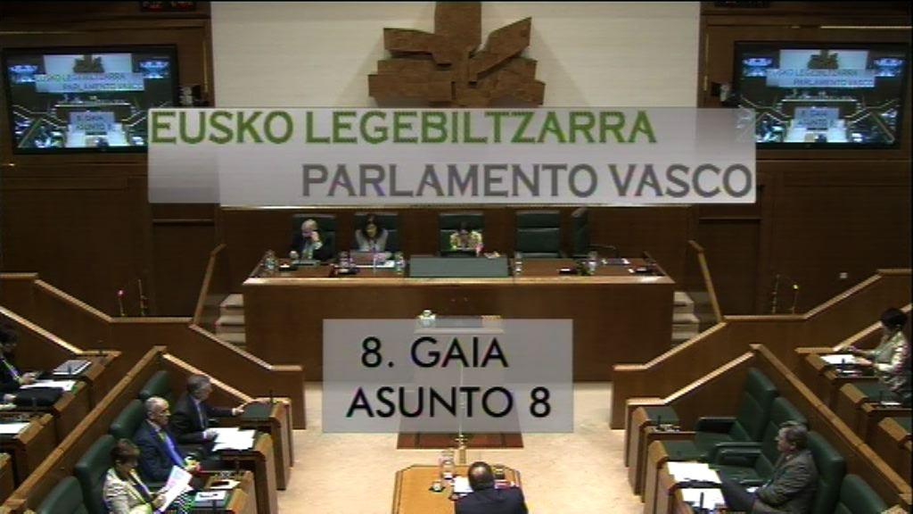 Pregunta formulada por D. Iker Casanova Alonso, parlamentario del grupo EH Bildu, al lehendakari, relativa al acuerdo suscrito con el PP para aprobación de los presupuestos del Gobierno Vasco