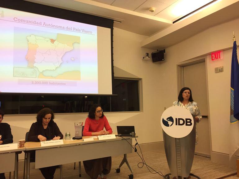 Dos proyectos vascos entre los cuatro europeos seleccionados por el Banco Inter-Americano de Desarrollo como buenas prácticas en igualdad