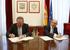 Pedro Azpiazu sailburuak eta Cristóbal Montoro ministroak akordioa sinatu dute, Euskadi eta Estatuaren arteko finantza harremanak erregularizatzeko, hamar urteko ziurgabetasun garaiaren ostean