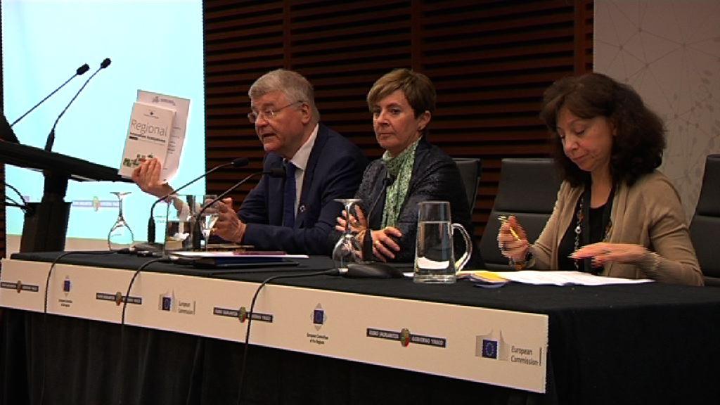 Un seminario coorganizado por el Gobierno Vasco y el Comité europeo de las Regiones analiza en el Kursaal el papel de las regiones en la Europa de la Innovación