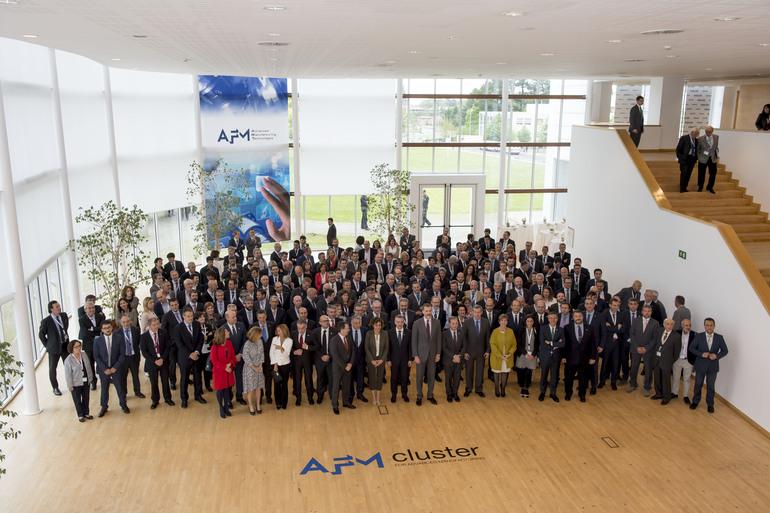 El Rey Felipe VI y el Lehendakari han asistido al 70 aniversario de AFM