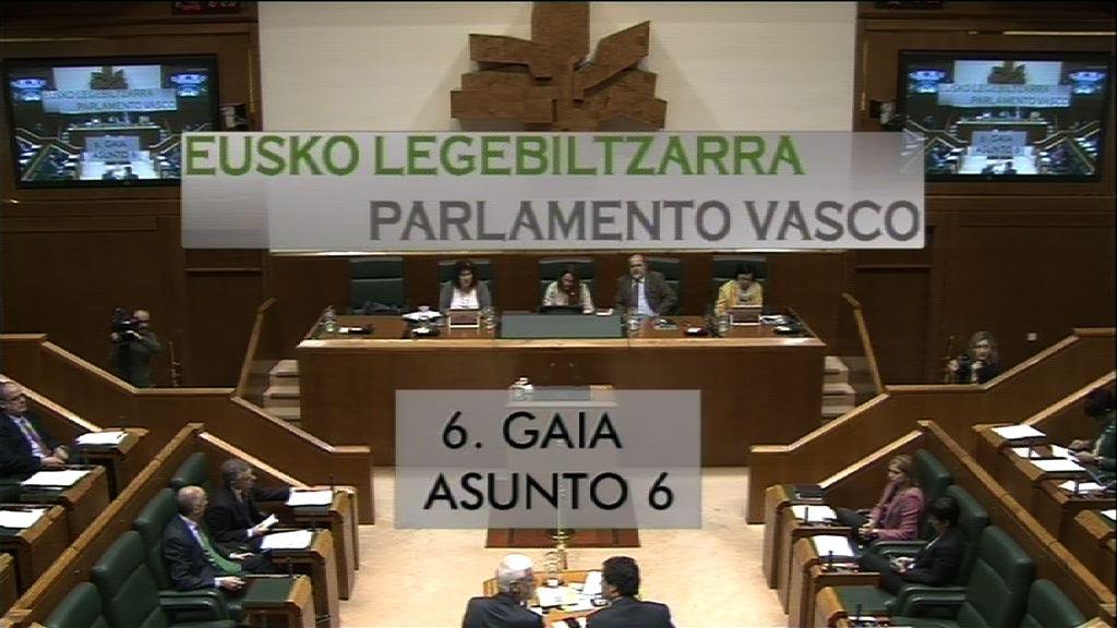 Interpelación formulada por D.ª Larraitz Ugarte Zubizarreta, parlamentaria del grupo EH Bildu, al lehendakari, relativa a los acuerdos con el PP