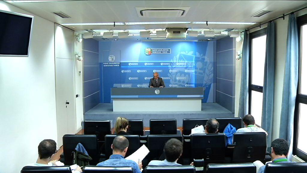 Eusko Jaurlaritzako bozeramailearen prentsaurrekoa Gobernu Kontseiluaren ostean