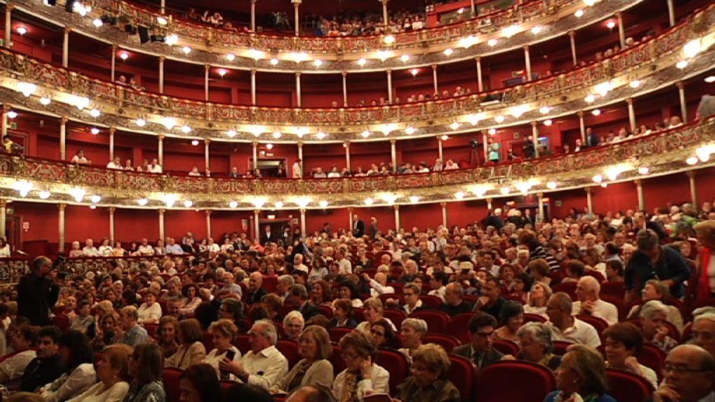 Lehendakaria Juan José Menak zuzendutako BBCren Orkestra Filarmonikoaren kontzertuan egon da