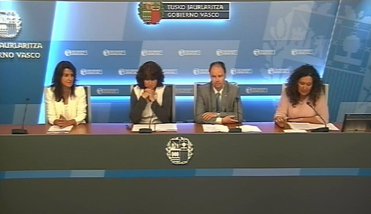 """El Gobierno Vasco y la Cátedra de DDHH de la UPV/EHU presentan un informe sobre el estado actualizado del """"caso Pertur"""""""