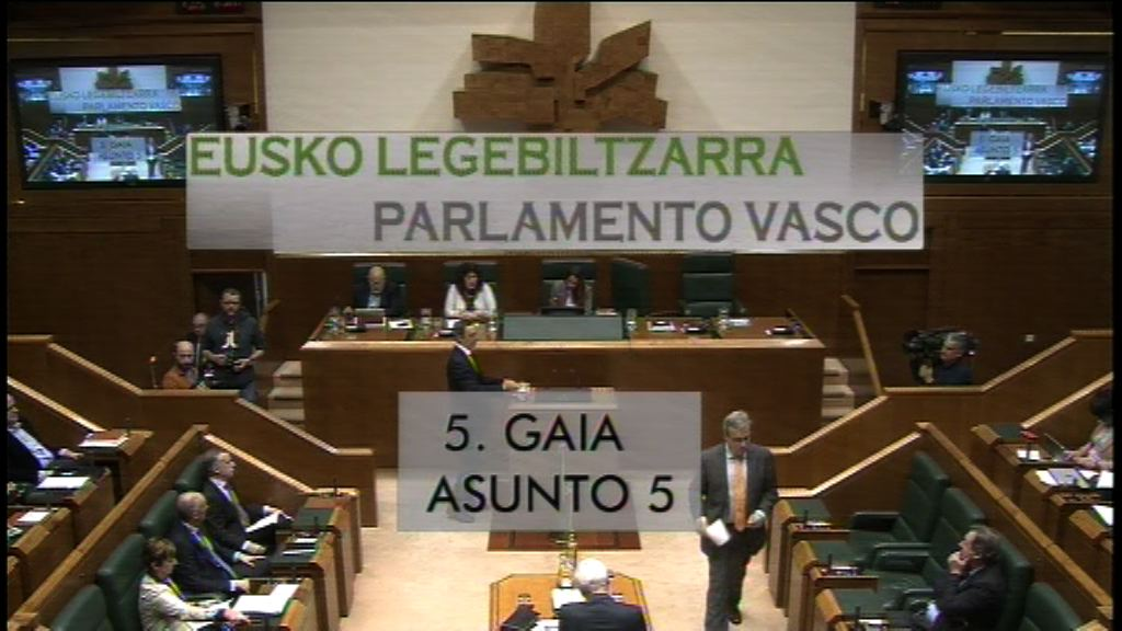 Pregunta formulada por D. Alfonso Alonso Aranegui, parlamentario del grupo Popular Vasco, al lehendakari, sobre reforma fiscal
