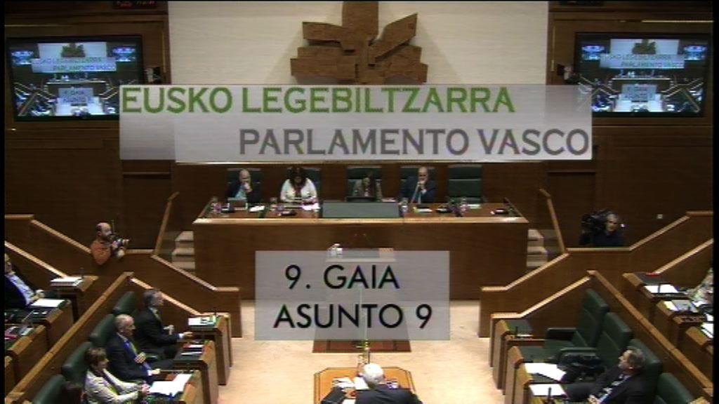 Pregunta formulada por D. Iker Casanova Alonso, parlamentario del grupo EH Bildu, al lehendakari, sobre el decreto que reforma el sector de la estiba