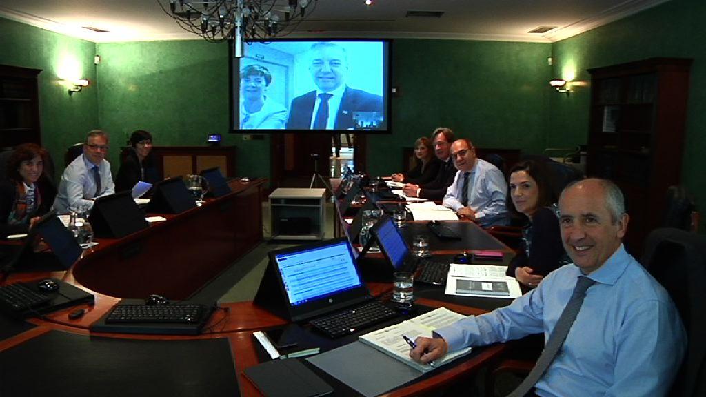 El Consejo de Gobierno celebra su habitual reunión semanal a través de videoconferencia