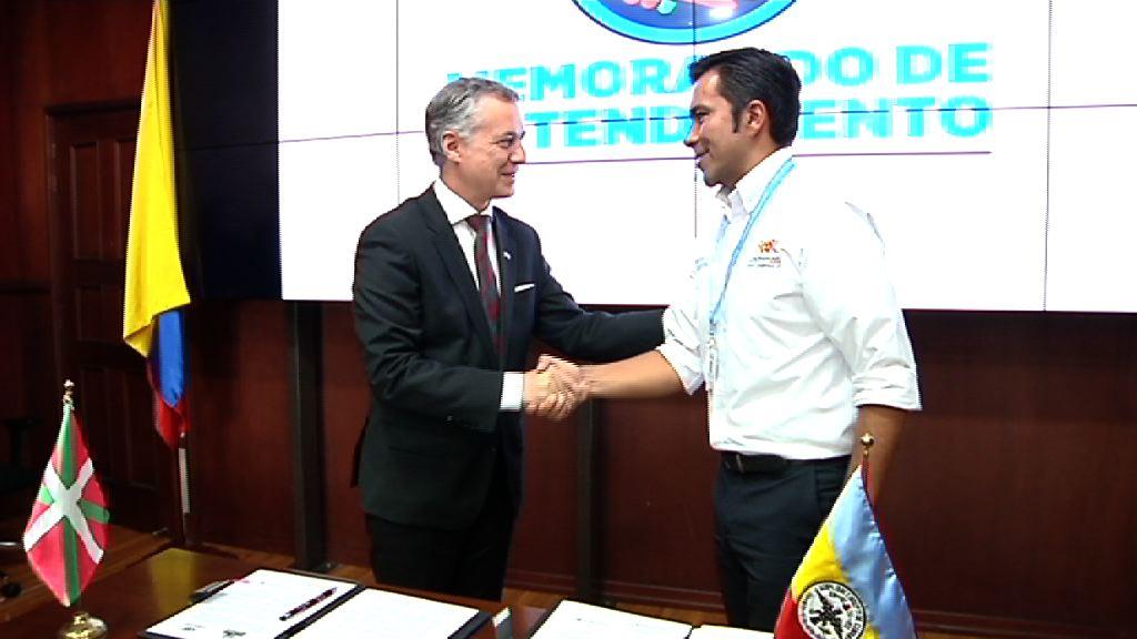 Cundinamarca Departamentuak hartu du barnean Eusko Jaurlaritzak bere aliantza estrategikoen sarean