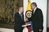 Kolonbiako Lehendakariorde Óscar Naranjorekin bildu da Lehendakaria