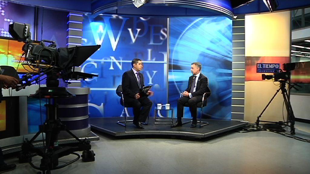El Lehendakari ha sido entrevistado en City TV