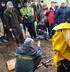 El Gobierno Vasco participa en la exhumación de los restos mortales de un combatiente, hallados en el monte Lemoatx de Bizkaia