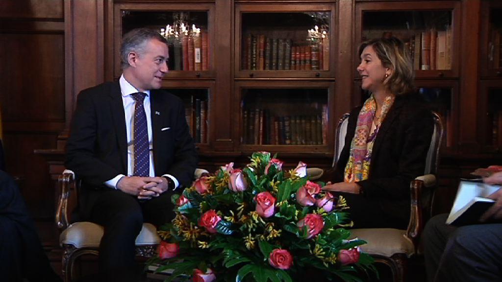 Encuentro con la canciller encargada de las Relaciones Exteriores, Patty Londoño