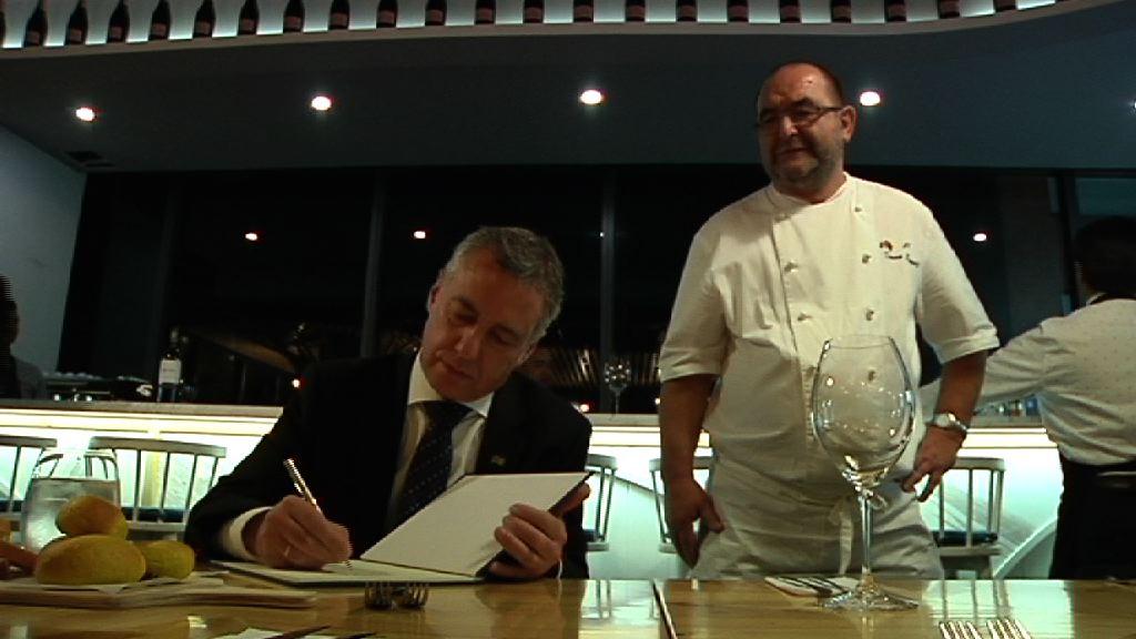 Inauguración del restaurante Seratta