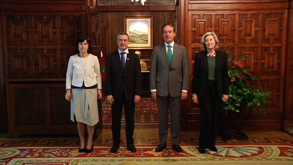 Lehendakariak Belgikako enbaxadorea hartu du