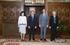El Lehendakari ha recibido al embajador de Bélgica