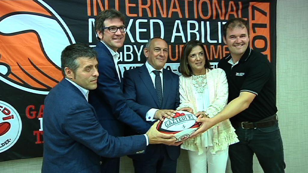 """Artolazabal destaca la función del rugby inclusivo """"en la construcción del gran pilar social, base de una sociedad avanzada"""""""