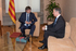 Encuentro entre el President Carles Puigdemont y el Lehendakari Urkullu en Barcelona