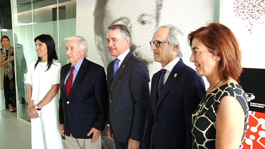 "El Lehendakari inaugura las nuevas instalaciones del ""Achucarro Basque Center for Neuroscience"""